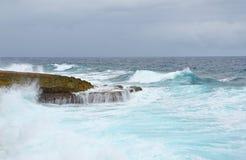 Paysage marin du Curaçao image stock