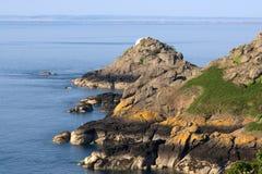 Paysage marin du Jersey Image libre de droits