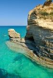 Paysage marin en été Image libre de droits