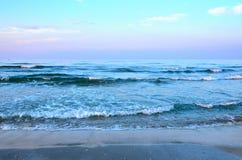 Paysage marin en été Images libres de droits