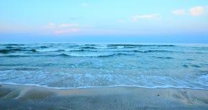 Paysage marin en été Photographie stock