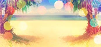 Paysage marin et rivage Détendez et tourisme illustration stock