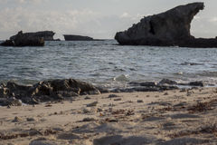 Paysage marin Madagascar Images libres de droits
