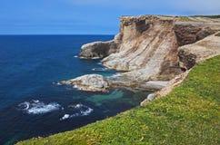 Paysage marin magnifique, Terre-Neuve photographie stock libre de droits
