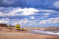 Paysage marin Mar del Plata, Argentine photographie stock libre de droits