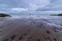 Paysage marin, mer avant la tempête images stock
