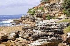 Paysage marin rocheux Photographie stock libre de droits