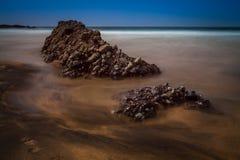 Paysage marin rocheux Images libres de droits