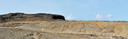 Paysage menant au sommet le plus élevé dans Djeu Images stock