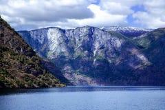 Paysage merveilleux dans Lysefjord Image libre de droits