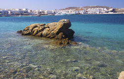 Paysage Mikonos images stock