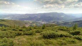 Paysage montagneux images libres de droits