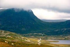 Paysage montagneux photographie stock libre de droits