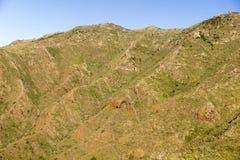 Paysage montagneux de Ténérife Espagne Photographie stock libre de droits