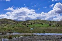 Paysage montagneux près de Metsovo, Grèce photos stock