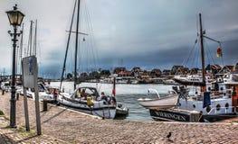 Paysage néerlandais authentique images stock