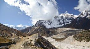 Paysage Népal de l'Himalaya Photographie stock libre de droits