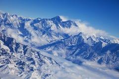 Paysage népalais de haute montagne Image libre de droits