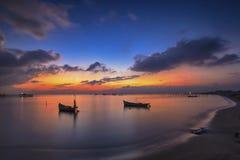 Paysage, nature, clauds, cieux, ciel, coucher du soleil, lever de soleil, lac, Image libre de droits