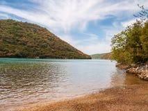 Paysage naturel, Croatie photos stock