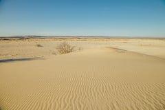 Paysage naturel de désert, dunes de sable images libres de droits