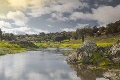 Paysage naturel de l'Espagne Photos stock