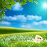 Paysage naturel rêveur Photo stock
