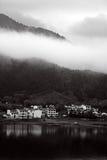 Paysage noir et blanc photos stock