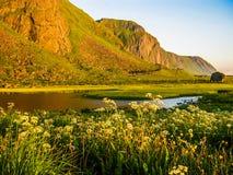 Paysage norvégien étonnant photographie stock
