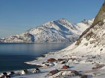 Paysage norvégien   Photo libre de droits