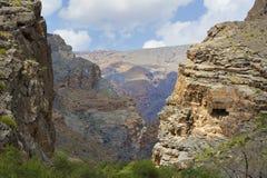 Paysage Oman Photographie stock libre de droits