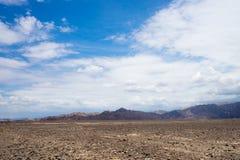 Paysage péruvien de paysage Images libres de droits