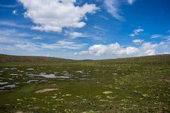Paysage péruvien de paysage Photographie stock