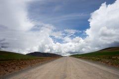 Paysage péruvien de paysage Photos stock