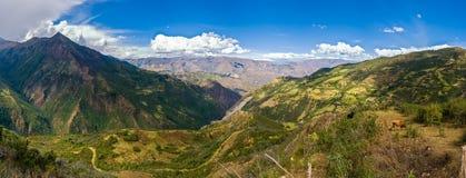 Paysage péruvien fantastique Photos stock