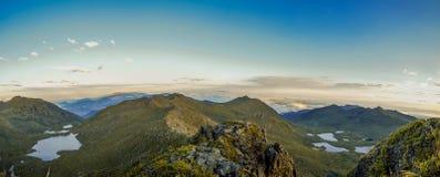 Paysage panoramique Images libres de droits