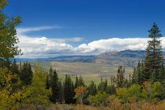 Paysage panoramique dans le Colorado photos libres de droits