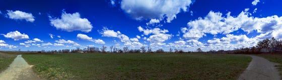Paysage panoramique de la Crimée de photographie Photographie stock