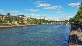 Paysage parisien Image libre de droits