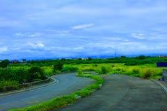 Paysage Philippines de muntinlupa de Sucat image libre de droits