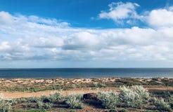 Paysage pittoresque d'Oceanside photographie stock libre de droits