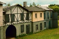 Paysage pour des pelliculages médiévaux historiques photographie stock