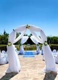 Paysage pour la cérémonie de mariage Photographie stock