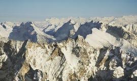 Paysage près de Zugspitze bavaria l'allemagne images stock