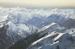 Paysage près de Zugspitze bavaria l'allemagne image libre de droits