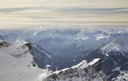 Paysage près de Zugspitze bavaria l'allemagne photo libre de droits