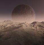 paysage produit par 3D illustration de vecteur