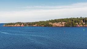 Paysage près de Nynashamn Photos libres de droits