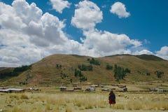Paysage Puno Image libre de droits