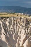 Paysage rocheux de Cappadocian Images libres de droits